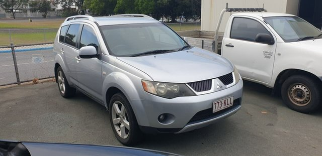 Used Mitsubishi Outlander ZG MY07 LS Mount Gravatt, 2007 Mitsubishi Outlander ZG MY07 LS Silver 6 Speed Constant Variable Wagon