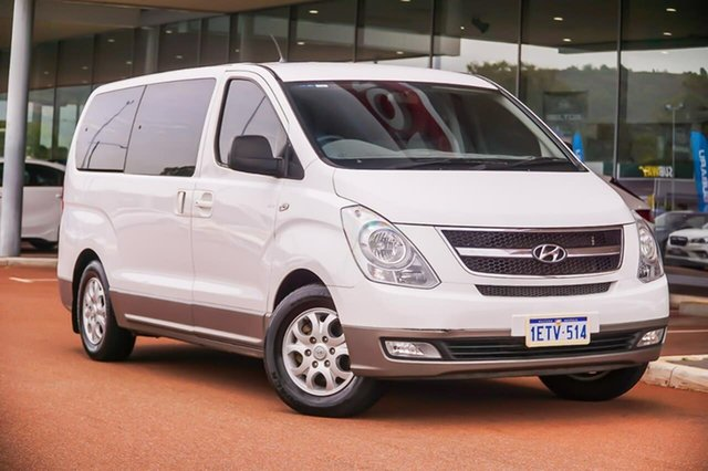 Used Hyundai iMAX TQ-W MY13 Gosnells, 2013 Hyundai iMAX TQ-W MY13 White 5 Speed Automatic Wagon