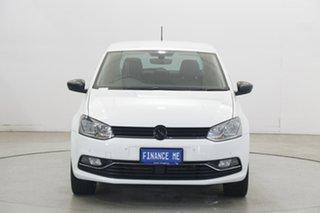 2018 Volkswagen Polo 6R MY17.5 Urban + (81Tsi) White 7 Speed Auto Direct Shift Hatchback.
