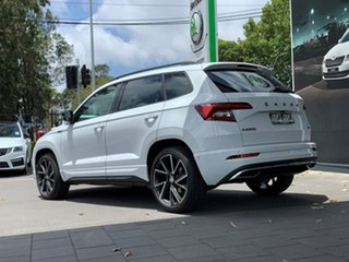 2020 Skoda Karoq NU MY21 140TSI DSG AWD Sportline White 7 Speed Sports Automatic Dual Clutch Wagon