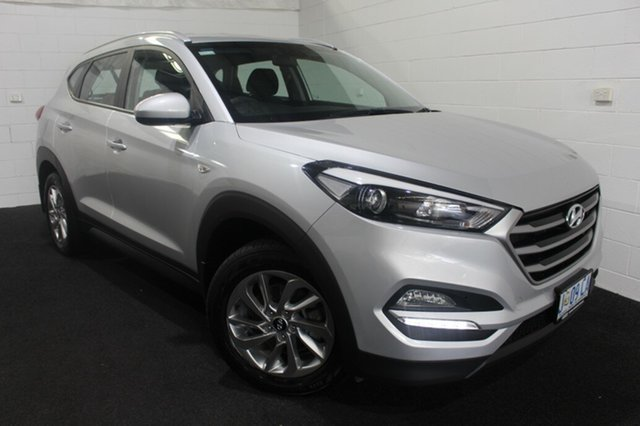 Used Hyundai Tucson TL2 MY18 Active AWD Glenorchy, 2017 Hyundai Tucson TL2 MY18 Active AWD Platinum Silver 6 Speed Sports Automatic Wagon