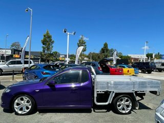 2009 Ford Falcon FG XR6 Ute Super Cab Purple 5 Speed Sports Automatic Utility.