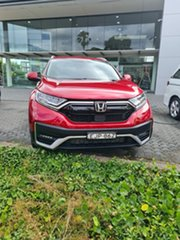 2020 Honda CR-V RW MY21 VTi FWD L7 Ignite Red 1 Speed Constant Variable Wagon.
