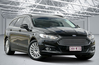 2015 Ford Mondeo MD Trend TDCi Black 6 Speed Automatic Wagon