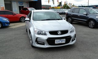 2016 Holden Commodore VF II SV6 Silver 6 Speed Automatic Sedan.