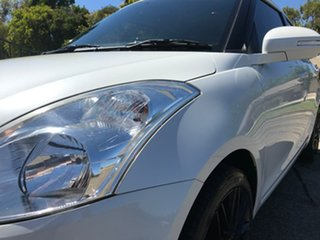 2016 Suzuki Swift FZ MY15 GL White 4 Speed Automatic Hatchback