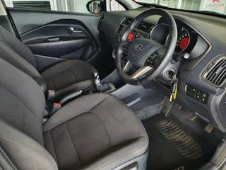 2012 Kia Rio UB MY12 SI Grey 6 Speed Manual Hatchback.