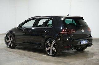 2017 Volkswagen Golf VII MY17 R 4MOTION Black 6 Speed Manual Hatchback.