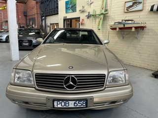 1999 Mercedes-Benz SL-Class R129 SL320 Silver 5 Speed Automatic Roadster