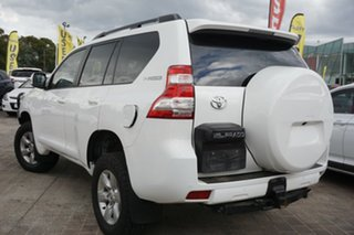 2017 Toyota Landcruiser Prado GDJ150R GXL White 6 Speed Sports Automatic Wagon