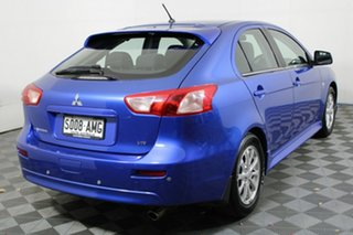2011 Mitsubishi Lancer CJ MY11 VR Sportback Lightning Blue 6 Speed Constant Variable Hatchback.