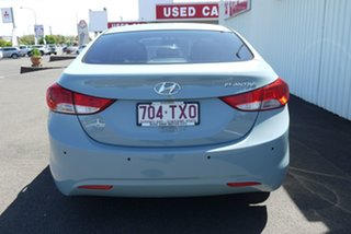 2013 Hyundai Elantra MD3 Active Blue 6 Speed Sports Automatic Sedan