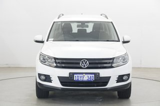 2012 Volkswagen Tiguan 5N MY12.5 132TSI Tiptronic 4MOTION Pacific Candy White 6 Speed.