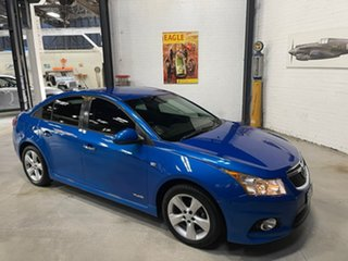 2011 Holden Cruze JH Series II MY12 SRi Blue 6 Speed Sports Automatic Sedan.