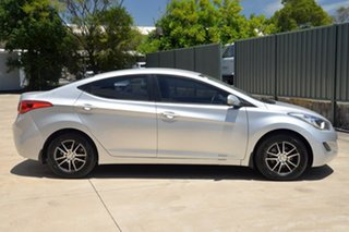 2012 Hyundai Elantra MD2 Active Silver 6 Speed Manual Sedan.
