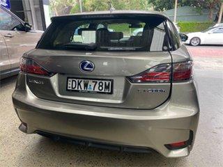 2016 Lexus CT ZWA10R CT200h Luxury Titanium Constant Variable Hatchback
