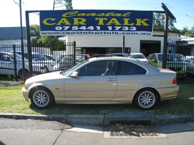 Used BMW 325Ci E46 Nambour, 2000 BMW 325Ci E46 Gold 5 Speed Auto Steptronic Coupe