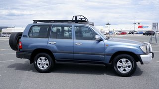 2006 Toyota Landcruiser UZJ100R GXL Blue 5 Speed Automatic Wagon.