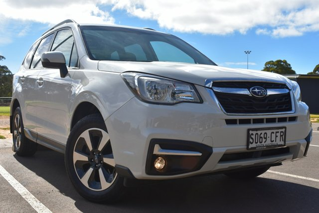 Used Subaru Forester S4 MY17 2.5i-L CVT AWD St Marys, 2017 Subaru Forester S4 MY17 2.5i-L CVT AWD White 6 Speed Constant Variable Wagon