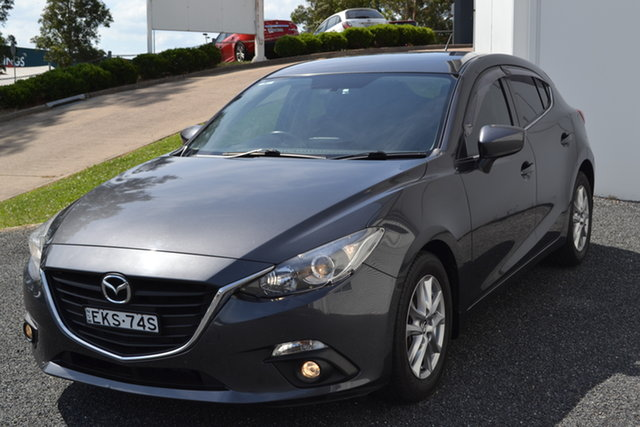 Used Mazda 3 BM5476 Maxx SKYACTIV-MT Maitland, 2015 Mazda 3 BM5476 Maxx SKYACTIV-MT Grey 6 Speed Manual Hatchback