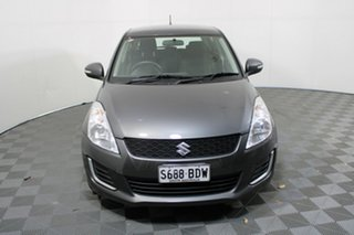 2014 Suzuki Swift FZ MY14 GL Mineral Grey 5 Speed Manual Hatchback.