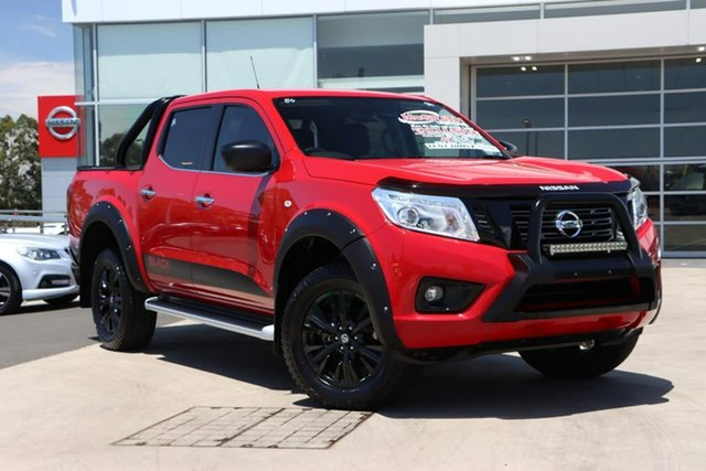 Used Nissan Navara D23 S3 ST Black Edition Liverpool, 2018 Nissan Navara D23 S3 ST Black Edition Burning Red 7 Speed Sports Automatic Utility