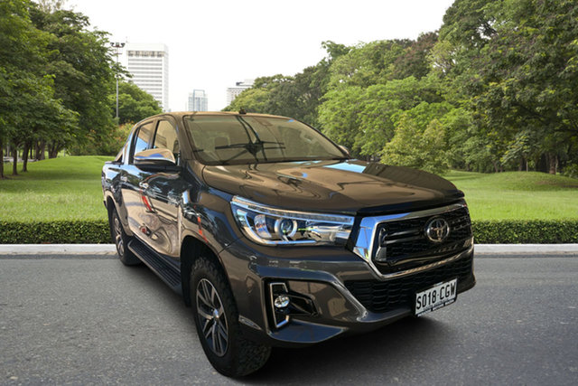 Used Toyota Hilux GUN126R SR5 Double Cab Paradise, 2019 Toyota Hilux GUN126R SR5 Double Cab Grey 6 Speed Sports Automatic Utility