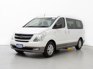 2012 Hyundai iMAX TQ MY11 White 4 Speed Automatic Wagon.