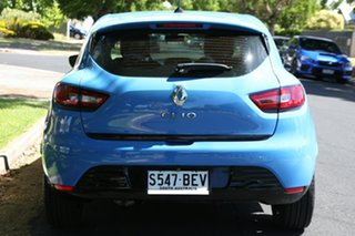 2014 Renault Clio IV B98 Expression EDC Blue 6 Speed Sports Automatic Dual Clutch Hatchback