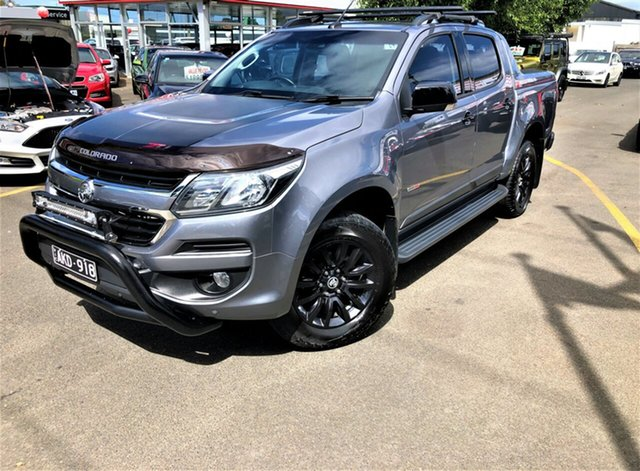 Used Holden Colorado RG MY17 Z71 Pickup Crew Cab Seaford, 2016 Holden Colorado RG MY17 Z71 Pickup Crew Cab Charcoal 6 Speed Manual Utility