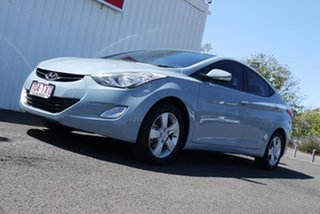 2013 Hyundai Elantra MD3 Active Blue 6 Speed Sports Automatic Sedan.