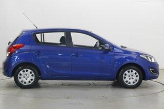 2014 Hyundai i20 PB MY15 Active Pristine Blue 6 Speed Manual Hatchback