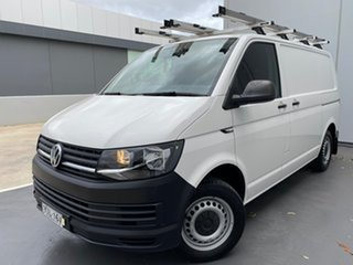 2017 Volkswagen Transporter T6 MY18 TDI340 SWB DSG White 7 Speed Sports Automatic Dual Clutch Van.
