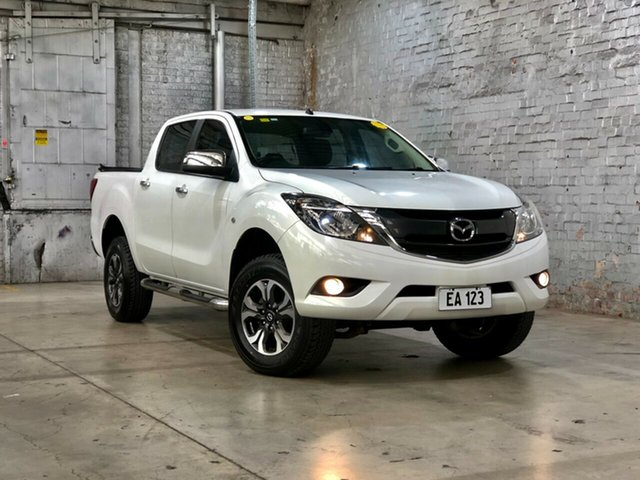 Used Mazda BT-50 UR0YG1 XTR Mile End South, 2017 Mazda BT-50 UR0YG1 XTR White 6 Speed Sports Automatic Utility