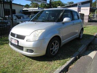 2007 Suzuki Swift EZ 07 Update Silver 4 Speed Automatic Hatchback.