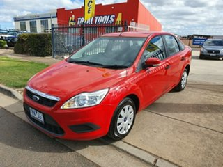 2009 Ford Focus LV CL Red 5 Speed Manual Sedan