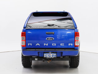 2015 Ford Ranger PX MkII XLS 3.2 (4x4) Blue 6 Speed Manual Double Cab Pick Up