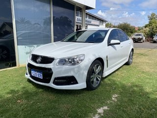 2013 Holden Commodore VF SV6 White 6 Speed Automatic Sedan.