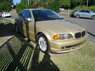2000 BMW 325Ci E46 Gold 5 Speed Auto Steptronic Coupe