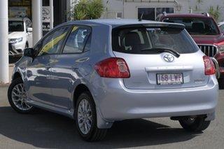 2009 Toyota Corolla ZRE152R Edge Light Blue Mica Metallic/cloth 4 Speed Automatic Hatchback.