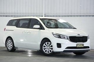 2015 Kia Carnival YP MY15 S White 6 Speed Sports Automatic Wagon.