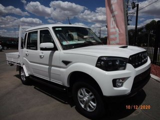 2020 Mahindra Pik-Up MY20 4WD S10+ Arctic White 6 Speed Manual Dual Cab Utility