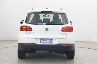 2012 Volkswagen Tiguan 5N MY12.5 132TSI Tiptronic 4MOTION Pacific Candy White 6 Speed