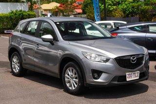 2013 Mazda CX-5 KE1021 MY13 Maxx SKYACTIV-Drive AWD Sport Silver 6 Speed Sports Automatic Wagon.