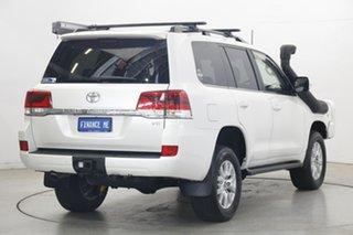 2016 Toyota Landcruiser VDJ200R VX White 6 Speed Sports Automatic Wagon