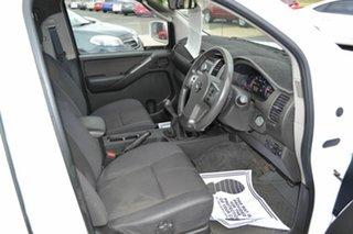 2010 Nissan Navara D40 ST (4x4) White 6 Speed Manual Dual Cab Pick-up