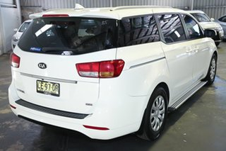 2015 Kia Carnival YP MY15 S White 6 Speed Sports Automatic Wagon