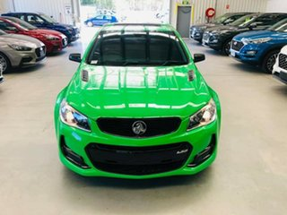 2017 Holden Commodore VF II MY17 SS V Redline Green 6 Speed Sports Automatic Sedan.