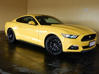 2016 Ford Mustang FM MY17 Fastback GT 5.0 V8 Yellow 6 Speed Automatic Coupe.
