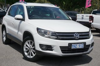 2012 Volkswagen Tiguan 5N MY13 155TSI DSG 4MOTION White 7 Speed Sports Automatic Dual Clutch Wagon